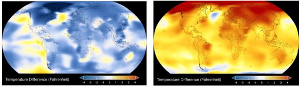 Nasa temp change