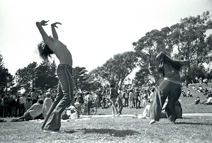 Dancers in GG Park April 20, 1969   sheet 277frame 36